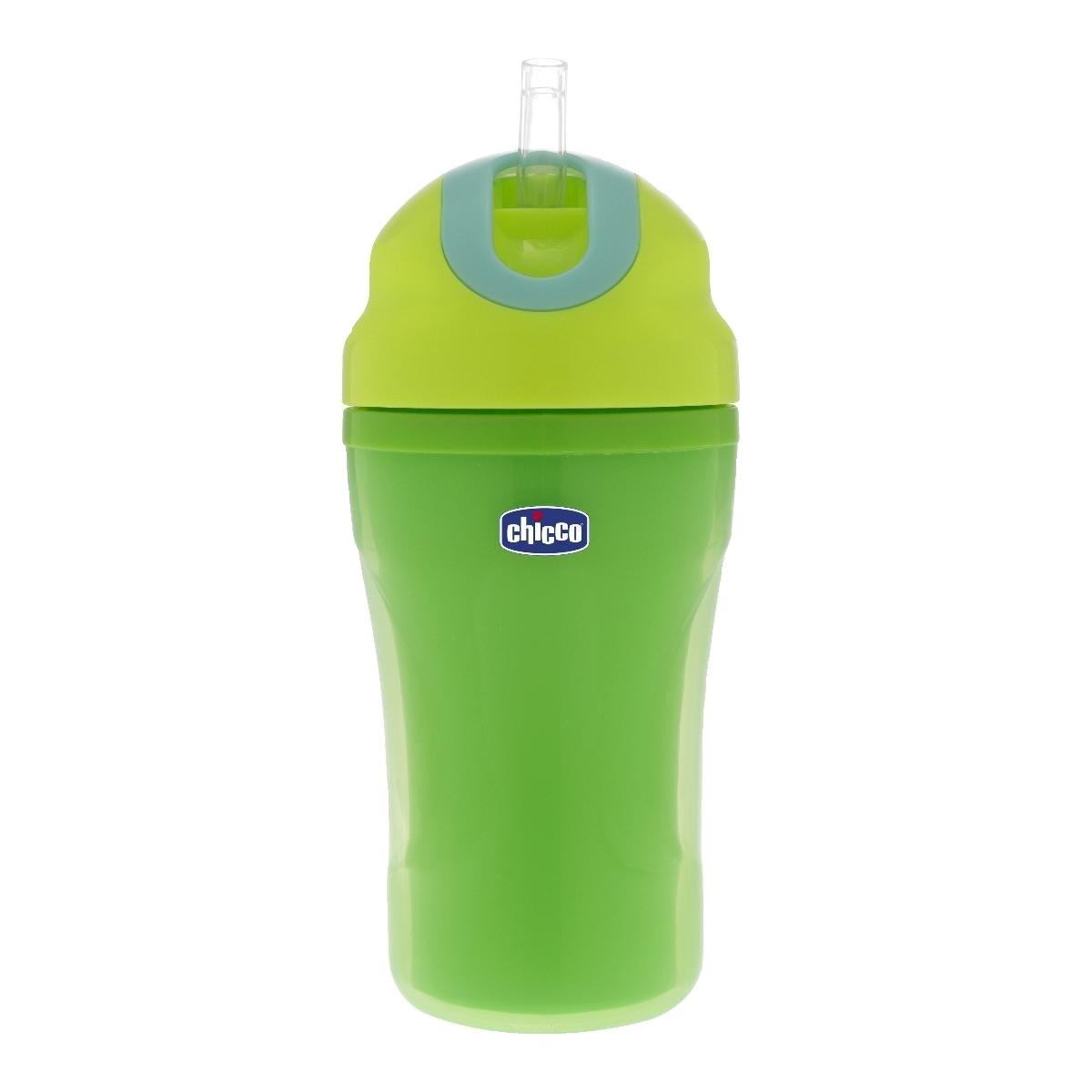 cana bebe chicco tazza passeggio, 266ml, verde