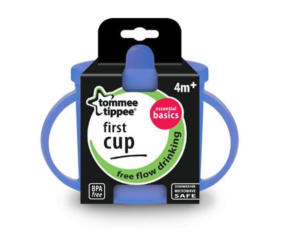 cana bebe tommee tippee basics firs cup, 190ml