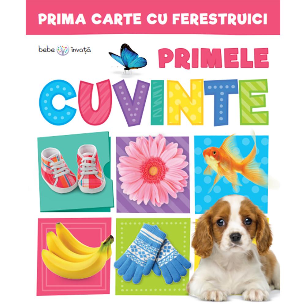 Carte Editura Litera, Prima carte cu ferestruici. Primele cuvinte. Bebe invata