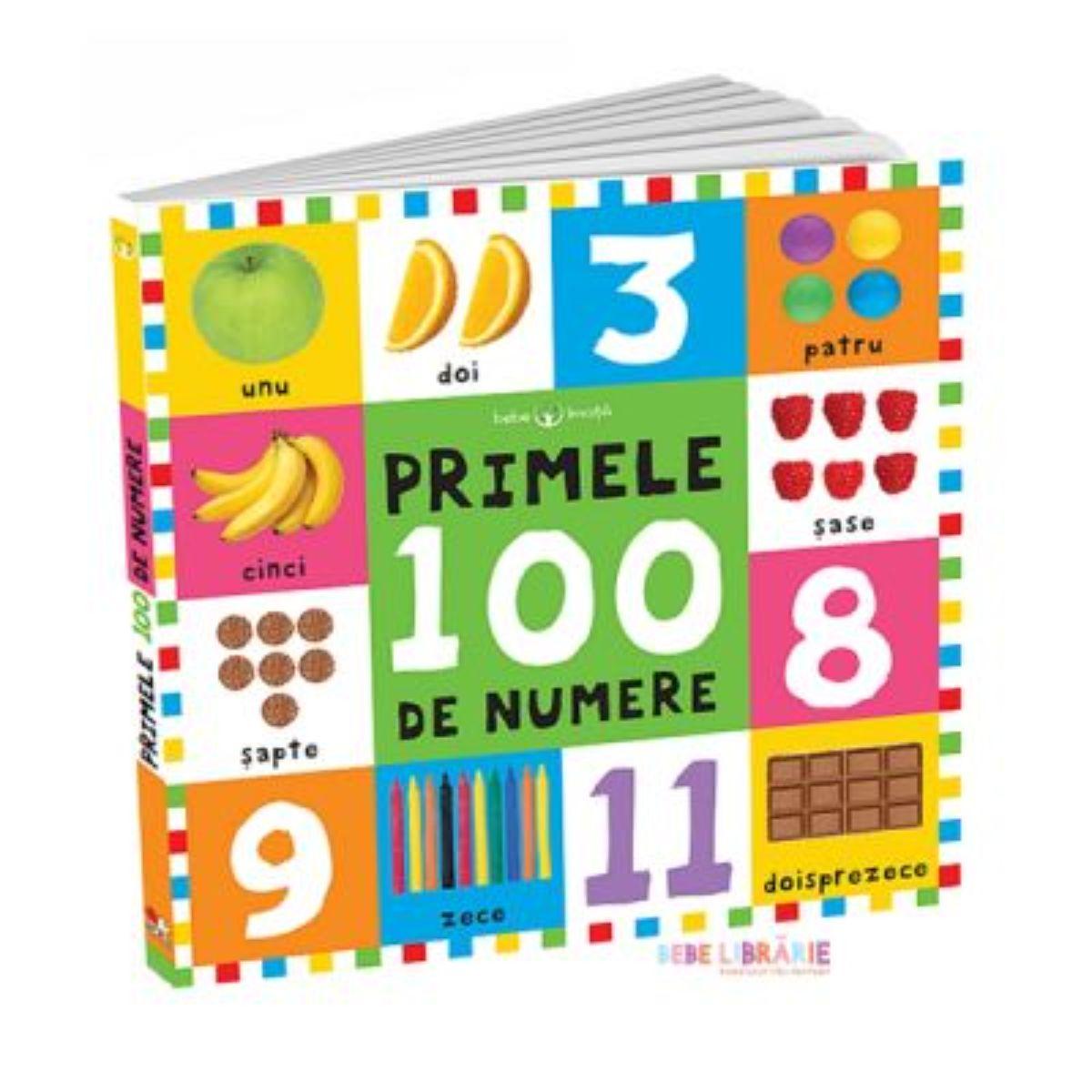 Bebe invata primele 100 de numere