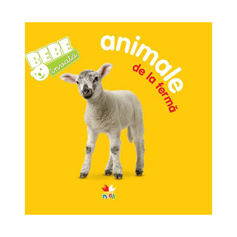 Carte copii Editura Litera, Bebe invata, Animale de la ferma