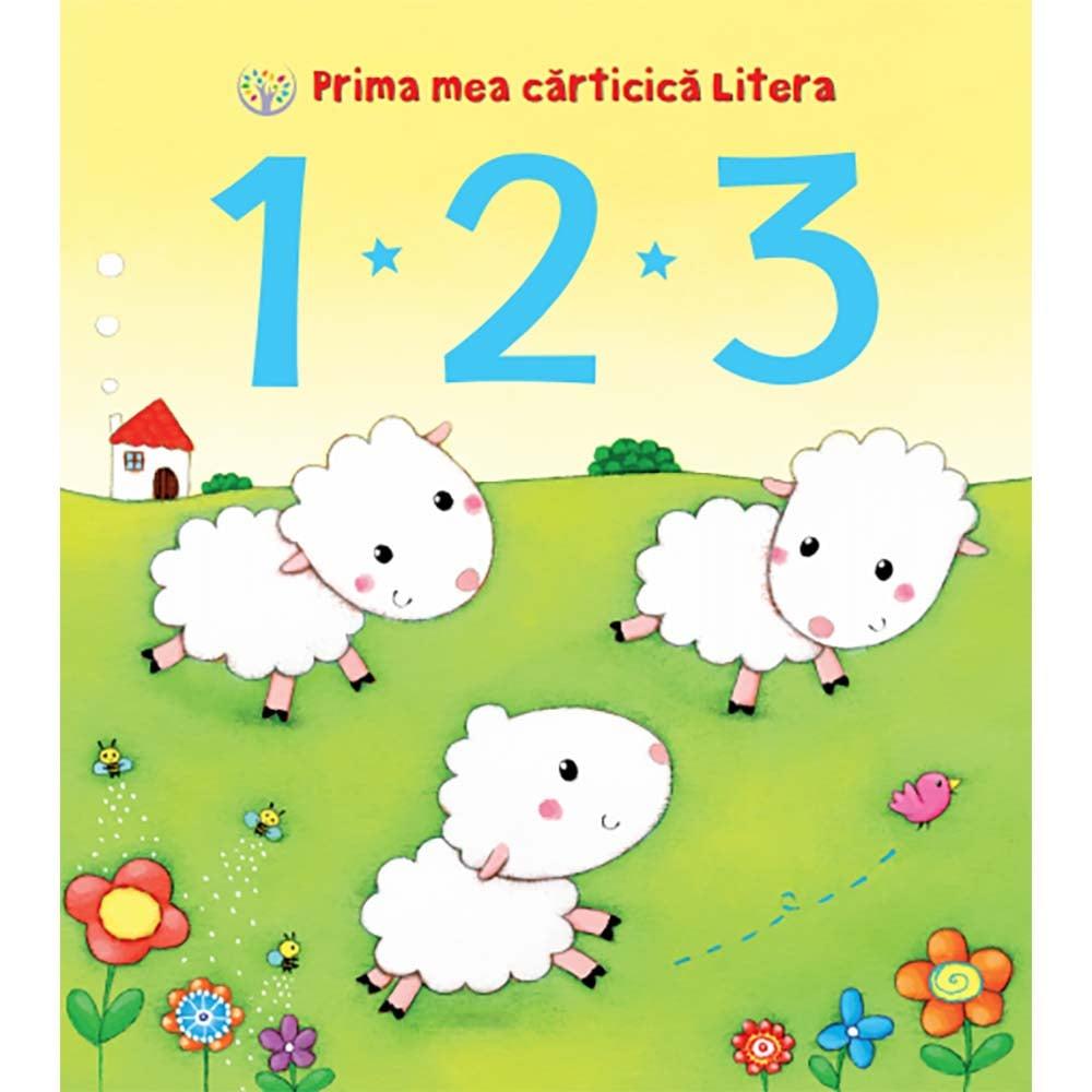 Carte Editura Litera, Prima mea carticica litera. 1 2 3