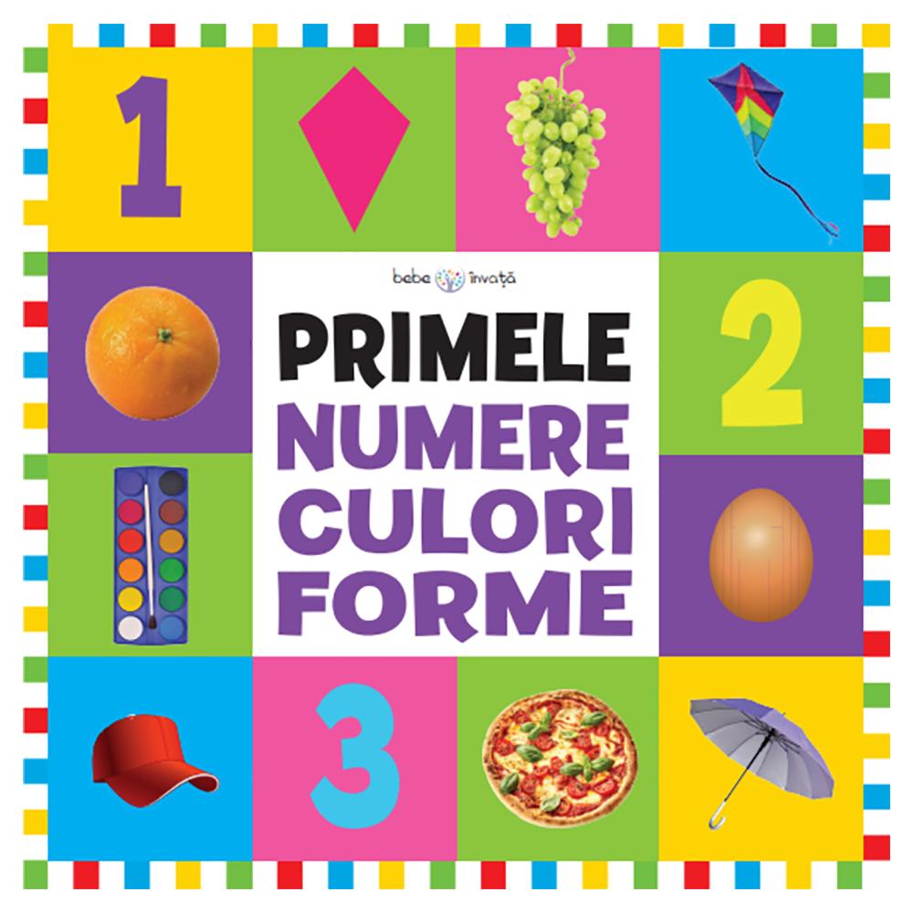 Carte Editura Litera, Bebe invata. Primele numere, culori, forme. Format mare