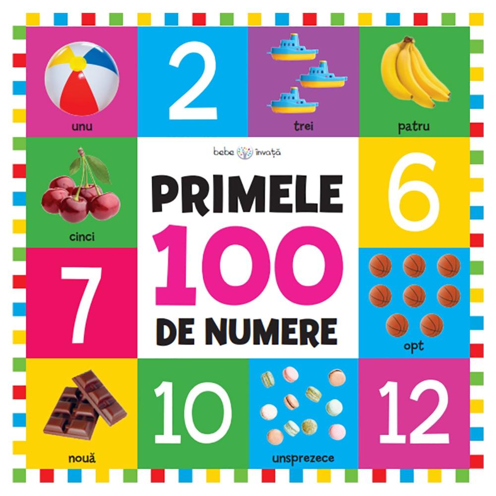 Carte Editura Litera, Bebe invata. Primele 100 de numere, format mare