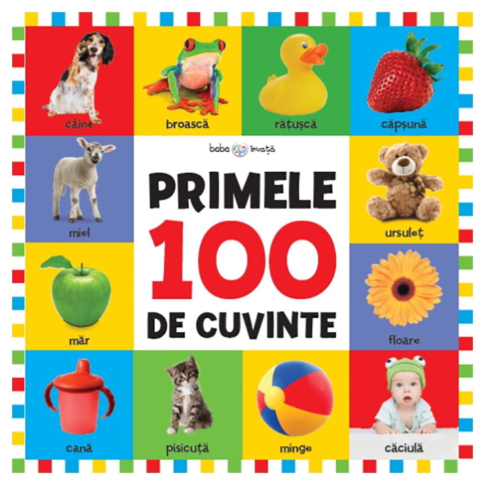 Carte Editura Litera, Bebe invata. Primele 100 de cuvinte, format mare