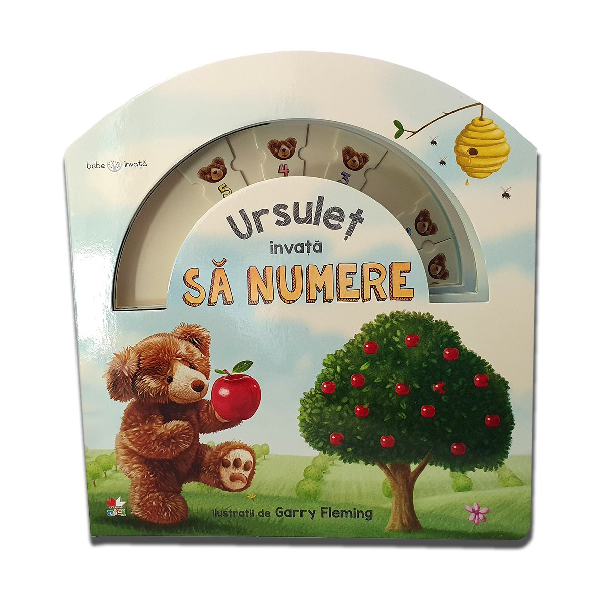Carte copii Editura Litera - Bebe invata, Ursulet invata sa numere imagine 2021