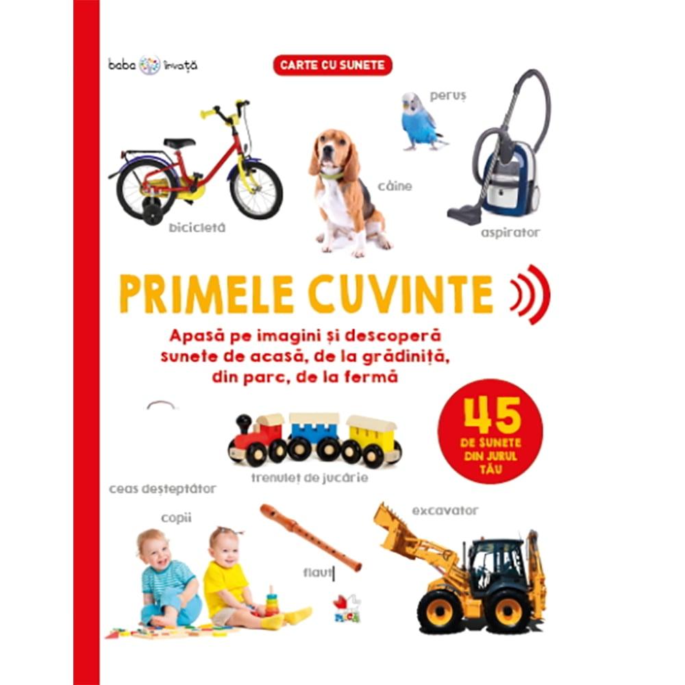 Carte Editura Litera, Bebe invata. Primele cuvinte. 45 de sunete din jurul tau