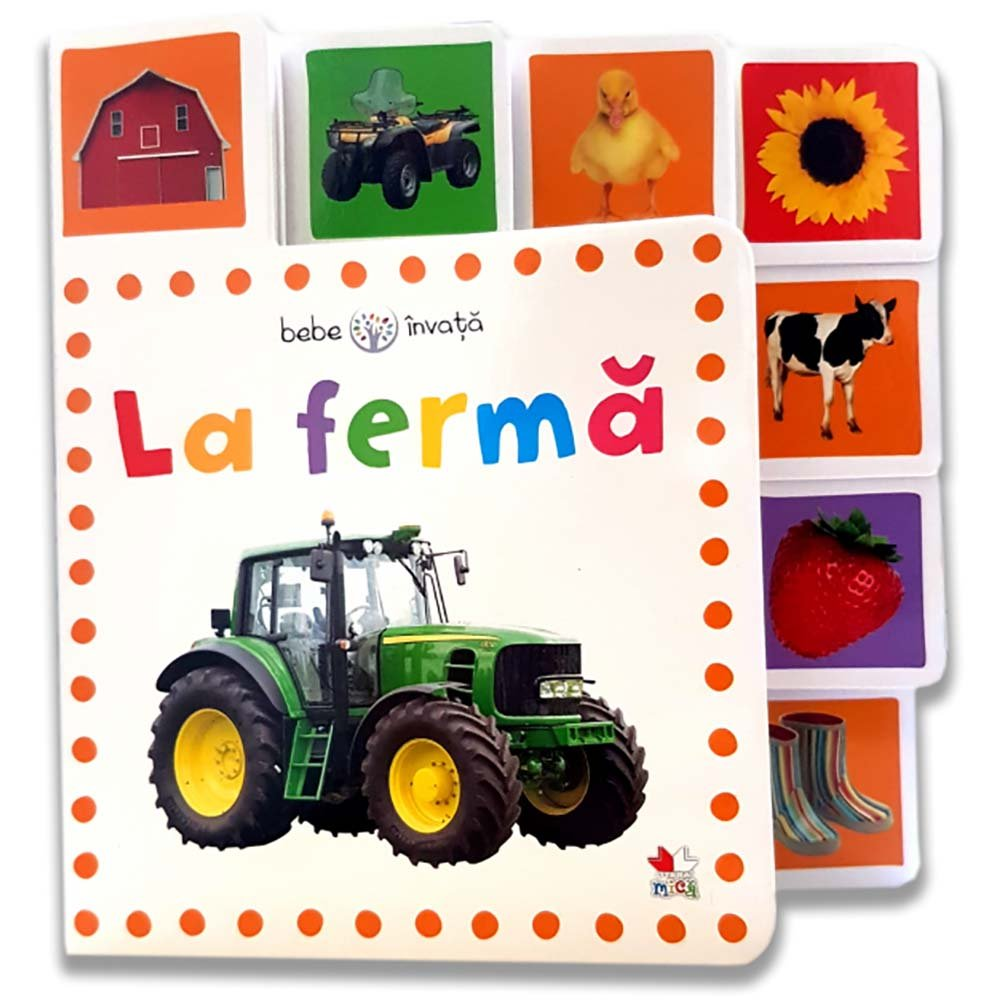 Carte Editura Litera, La ferma. Bebe invata. Minitab