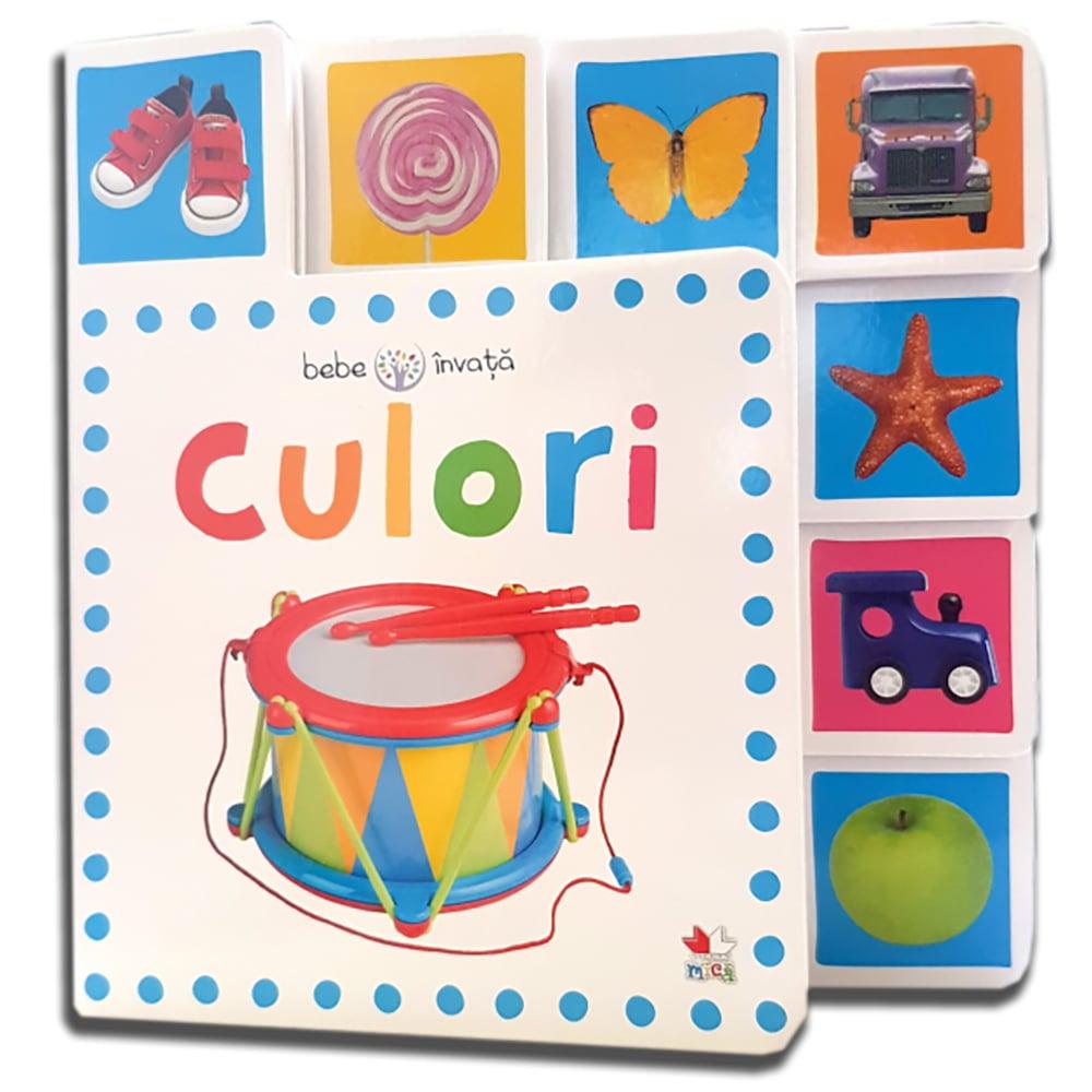 Carte Editura Litera, Culori. Bebe invata. Minitab