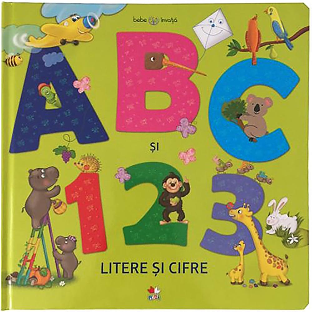 Carte Editura Litera, Bebe invata. Abc si 123. Litere si cifre