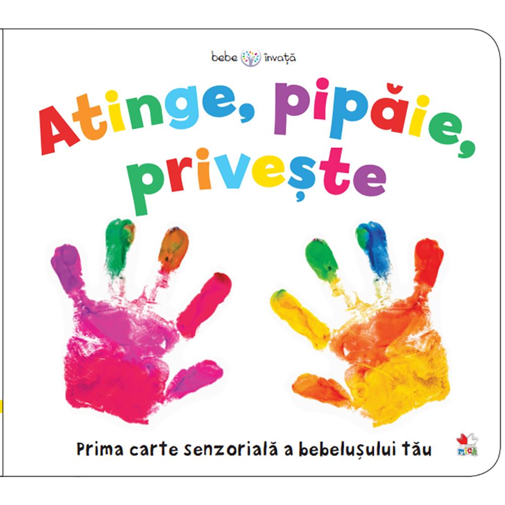 Carte Editura Litera, Bebe invata. Atinge, pipaie, priveste