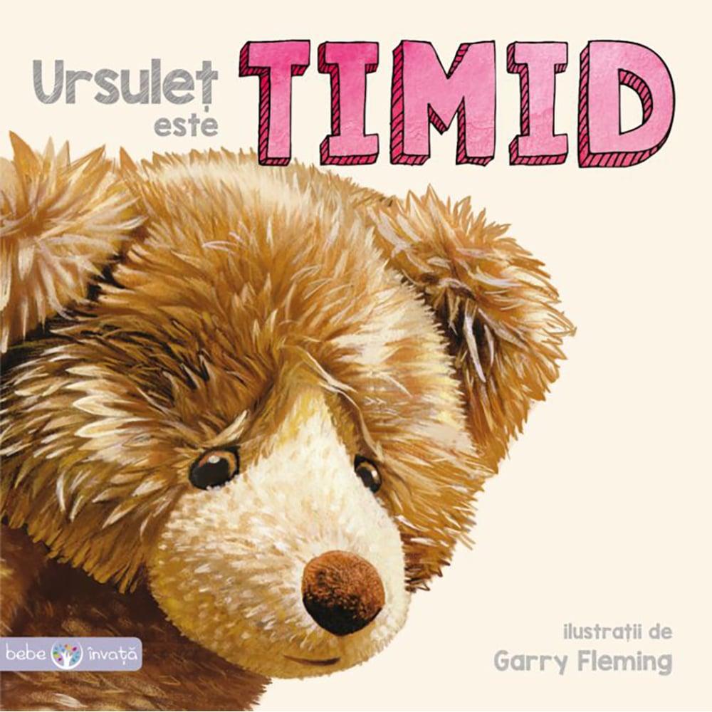 Carte Editura Litera, Ursulet este timid