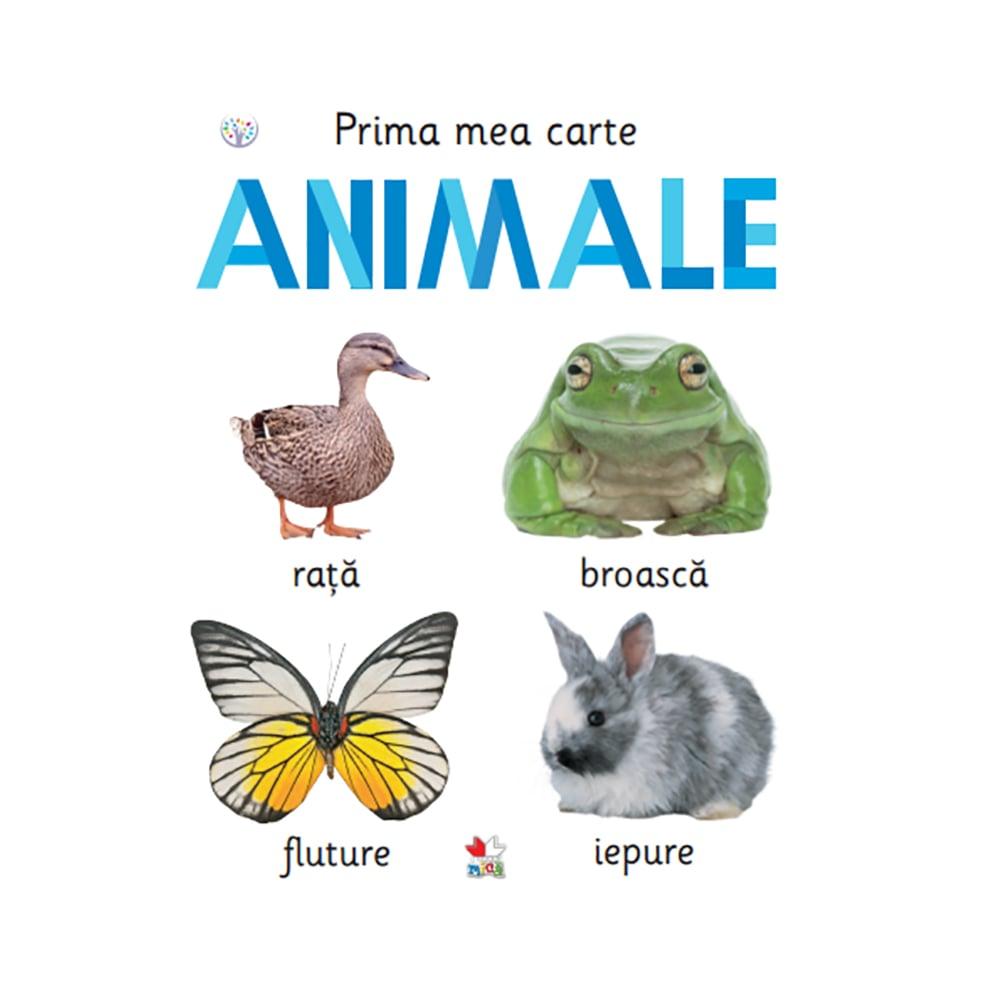 Carte Editura Litera, Prima mea carte. Animale