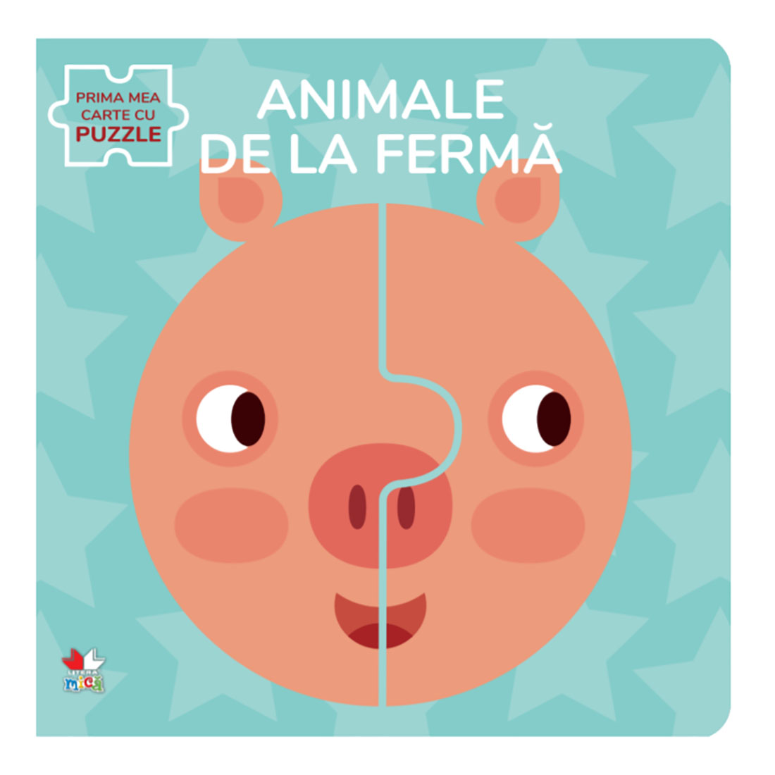 Carte Editura Litera, Animale de la ferma, Carte cu puzzle imagine 2021