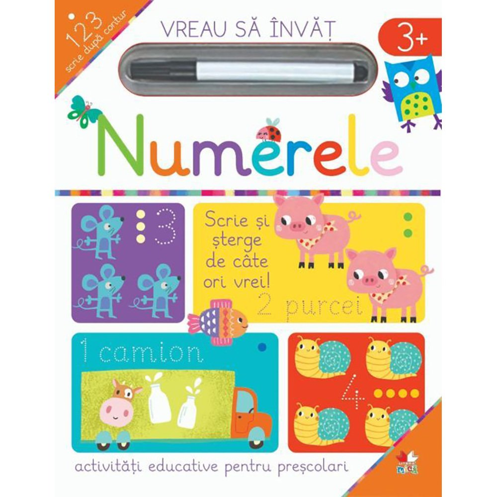 Carte Editura Litera, Vreau sa invat, Numerele