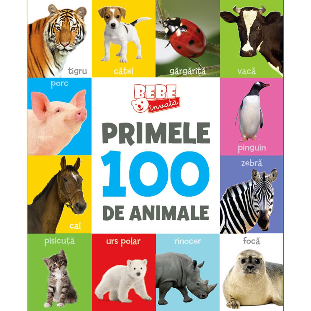 Carte Editura Litera, Primele 100 de animale. Bebe invata