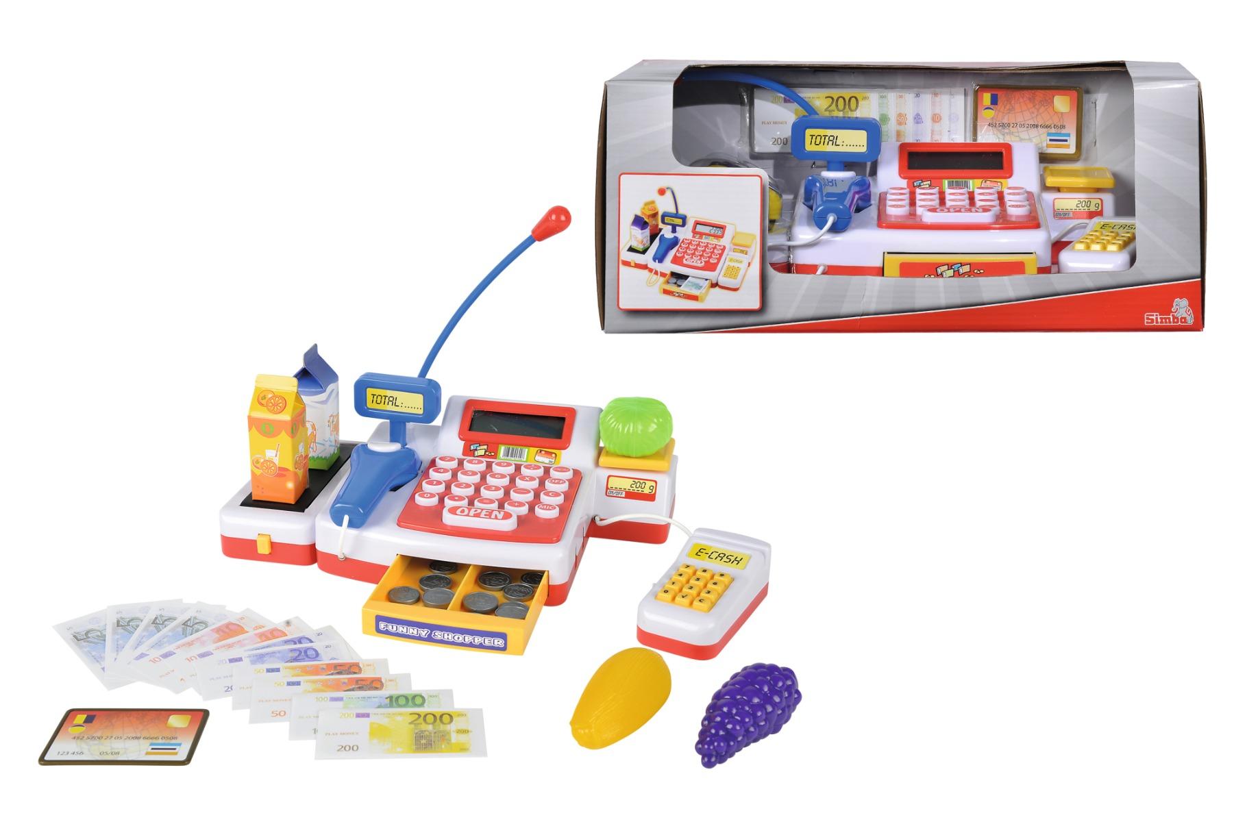 Set de joaca Simba - Casa de marcat cu accesorii imagine 2021