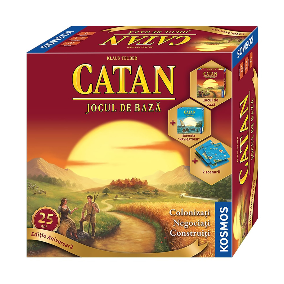 Joc Catan, Editie aniversara 25 de ani