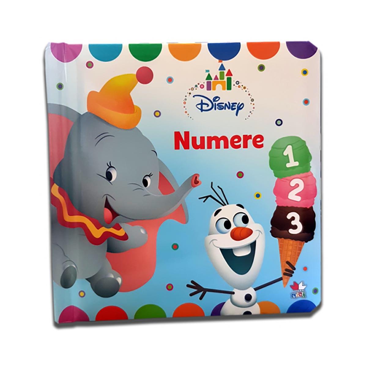 Carte copii Numere, Disney