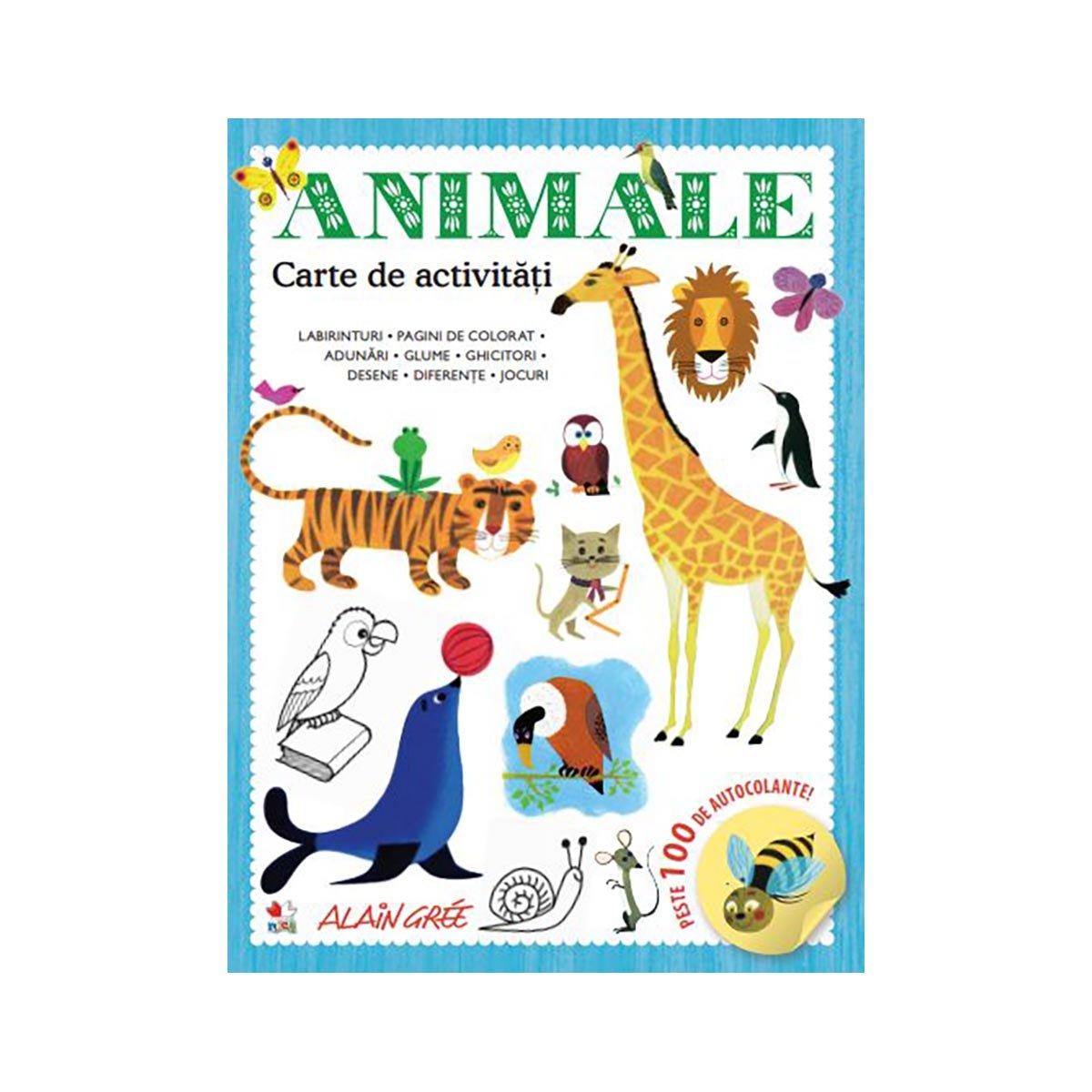 Carte de activitati Editura Litera, Animale