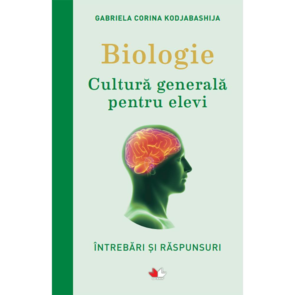 Carte Editura Litera, Biologie. Cultura generala pentru elevi