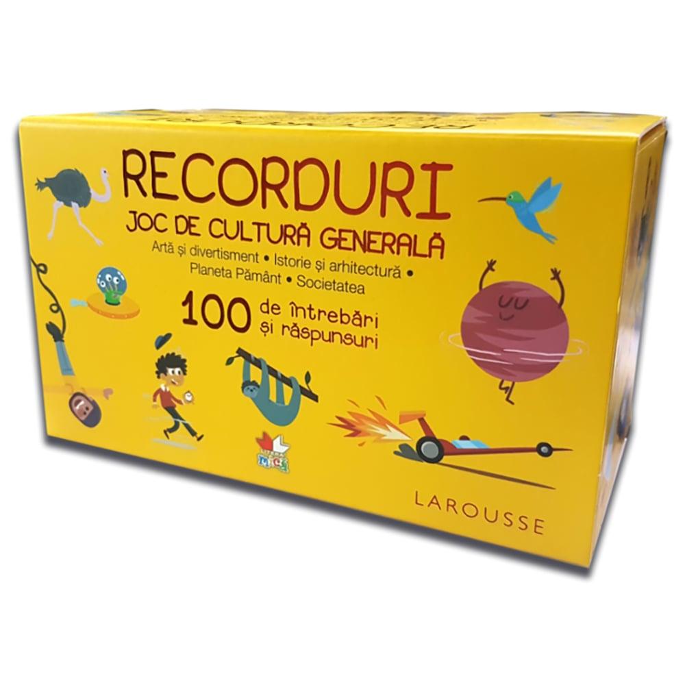 Carte Editura Litera, Recorduri. Joc de cultura generala. 100 de intrebari si raspunsuri