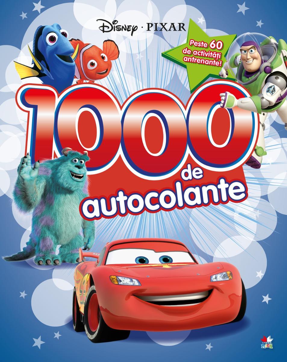 Carte cu autocolante Pixar, Disney