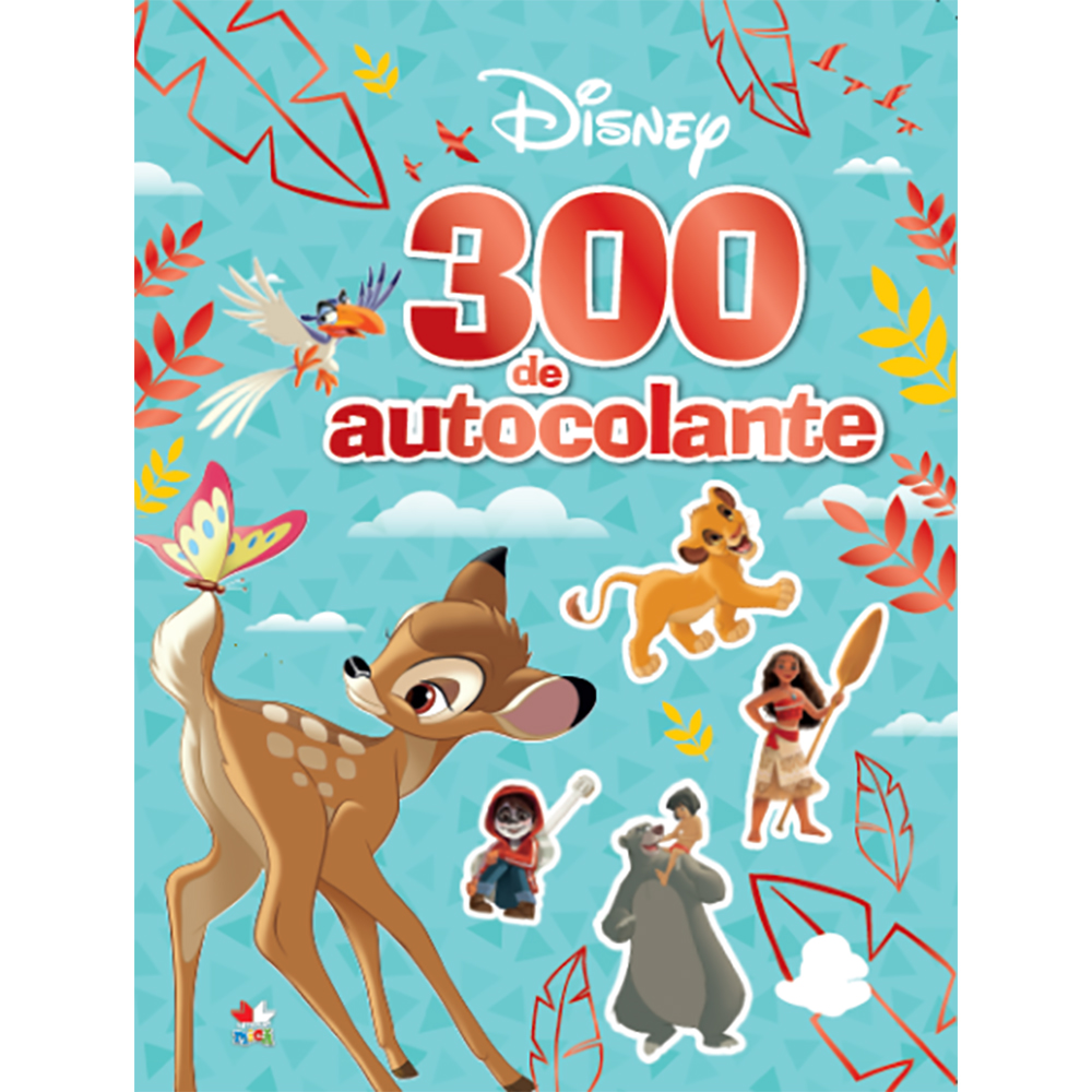 Carte Editura Litera, Disney. 300 de autocolante