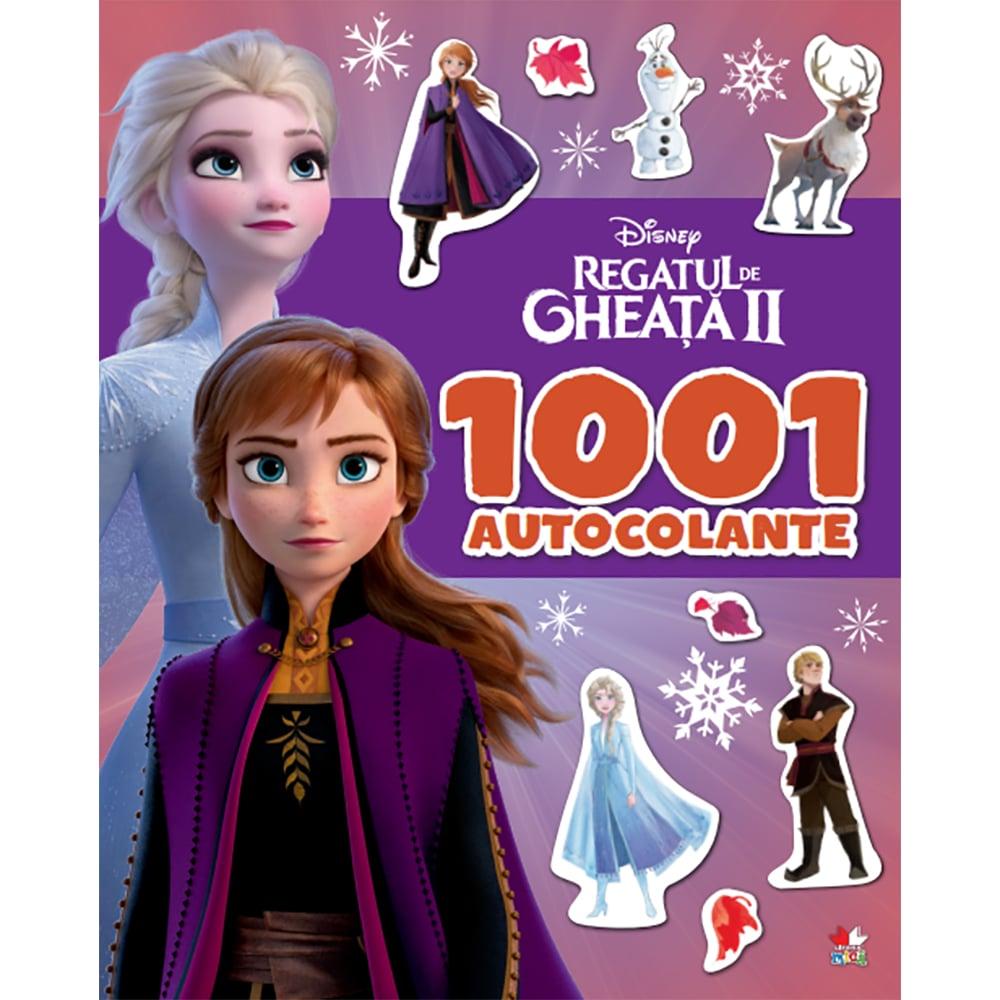 Carte Editura Litera, Disney. Regatul de gheata II. 1001 de autocolante