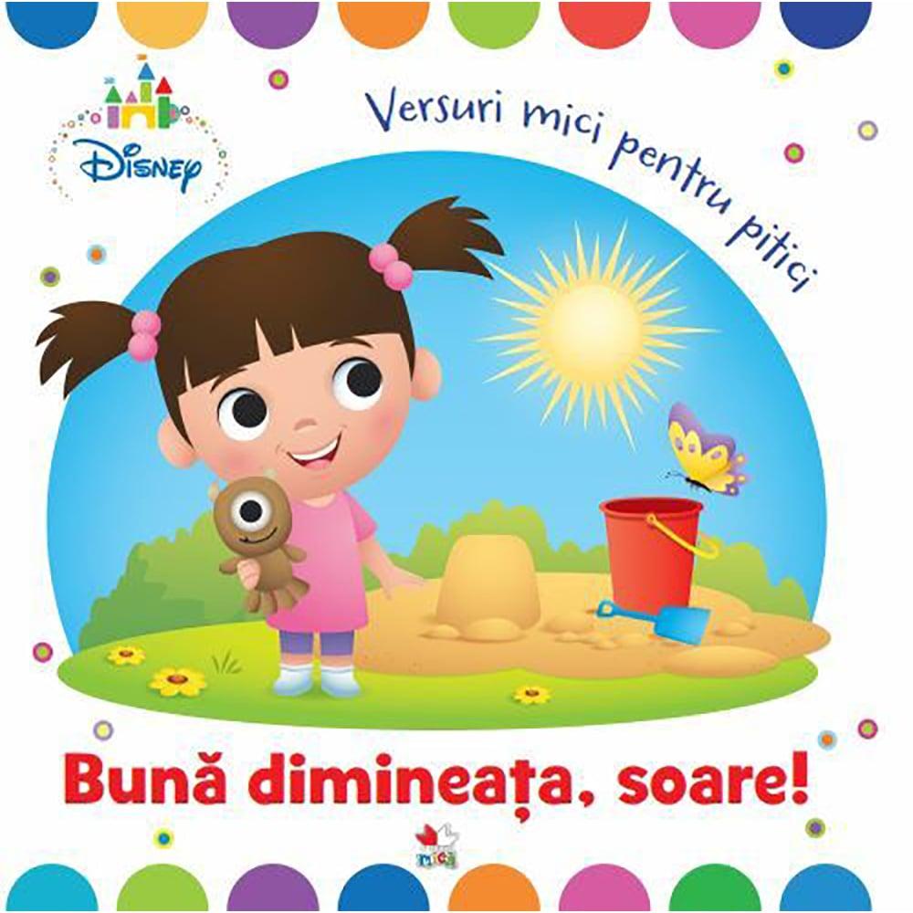 Carte Editura Litera, Buna dimneata, soare! Versuri mici pentru pitici