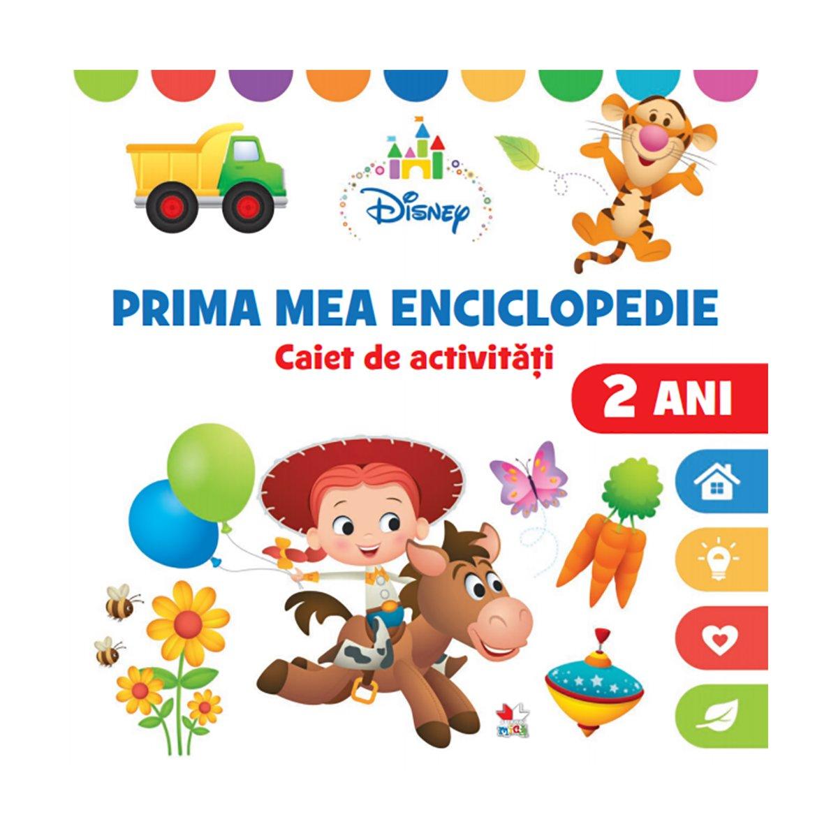Carte Editura Litera, Prima mea enciclopedie, Caiet de activitati, 2 ani