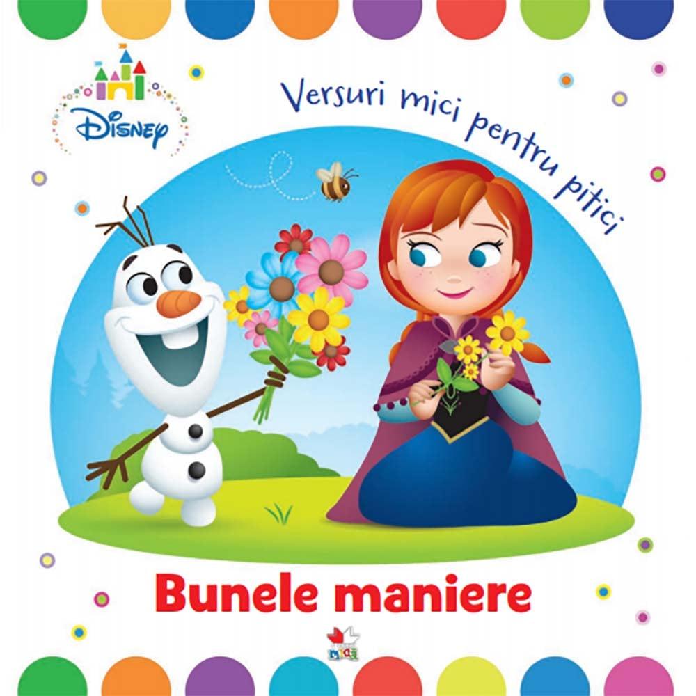 Carte Editura Litera, Disney Baby. Bunele maniere. Versuri mici pentru pitici