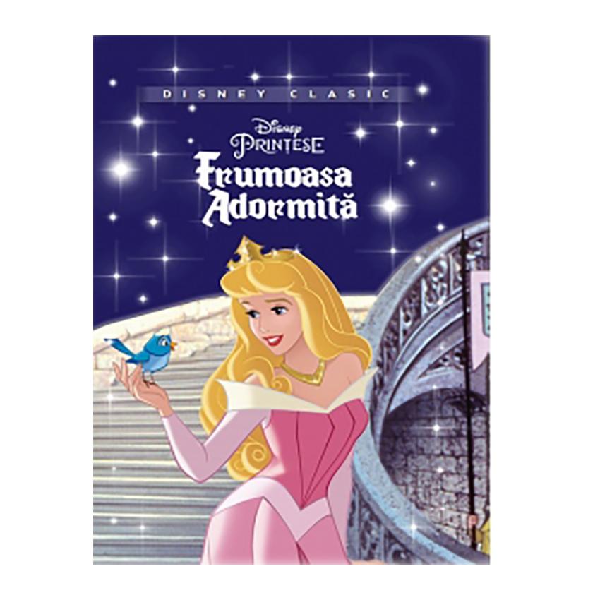 Carte Editura Litera, Disney. Frumoasa Adormita, Disney clasic