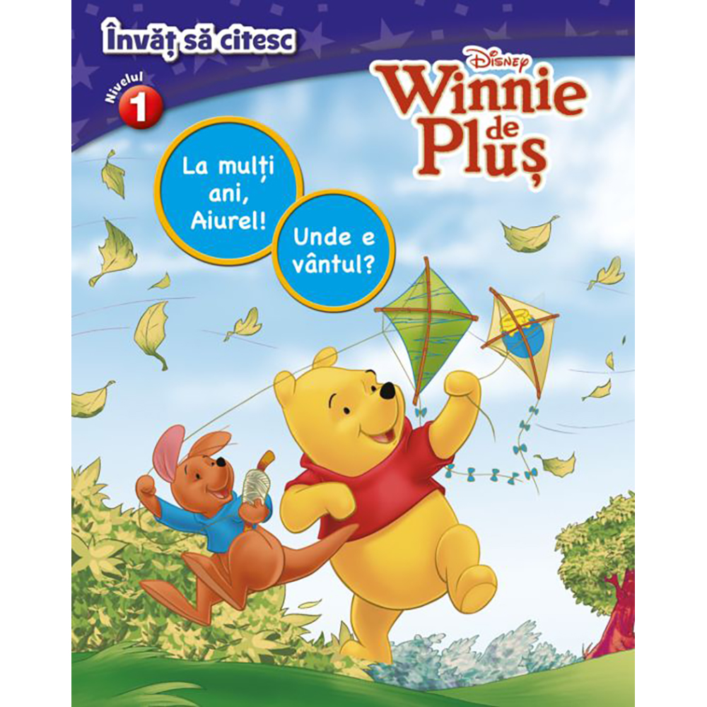 Carte Editura Litera, Disney. Invat sa citesc. Winnie de Plus, nivelul 1
