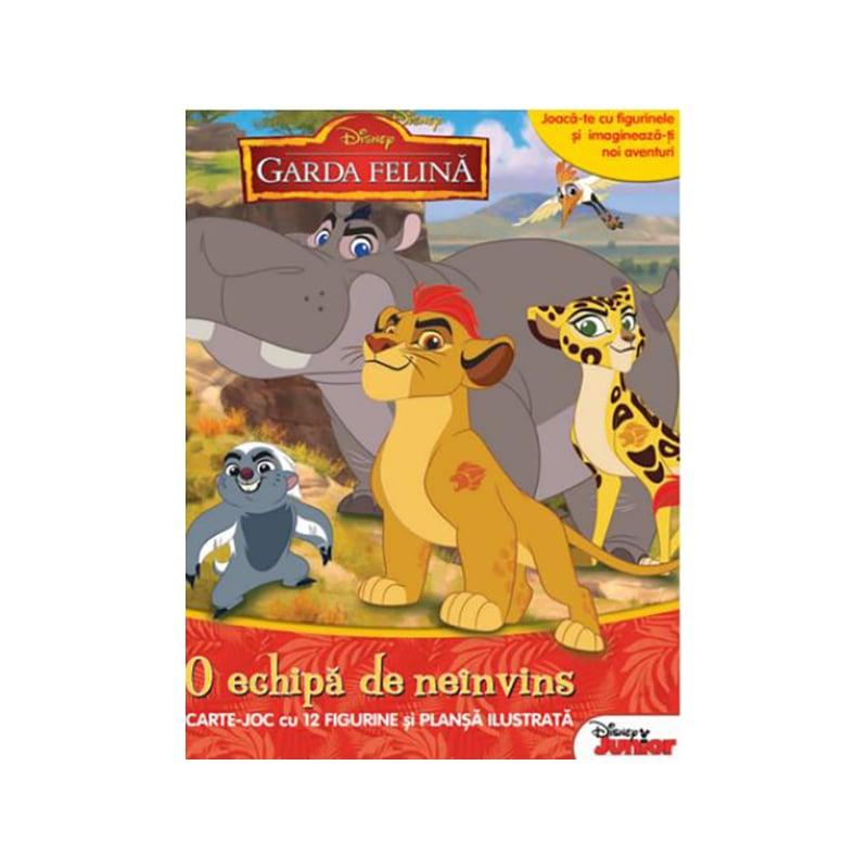Carte joc cu figurine, Disney, Garda felina, O echipa de neinvins