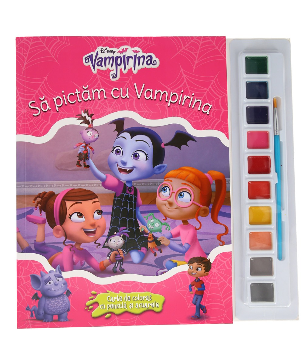 Carticica de colorat Vampirina, Disney