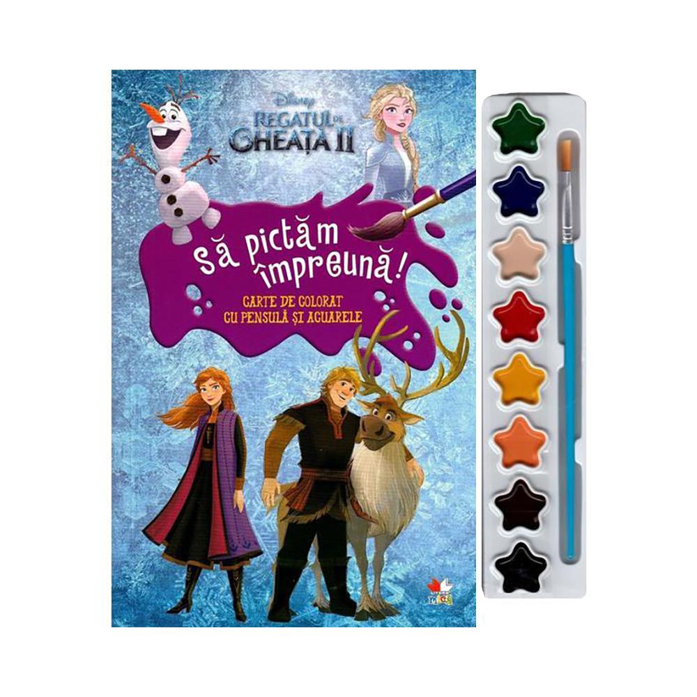 Carte Disney Frozen 2 - Sa pictam impreuna (format mic)
