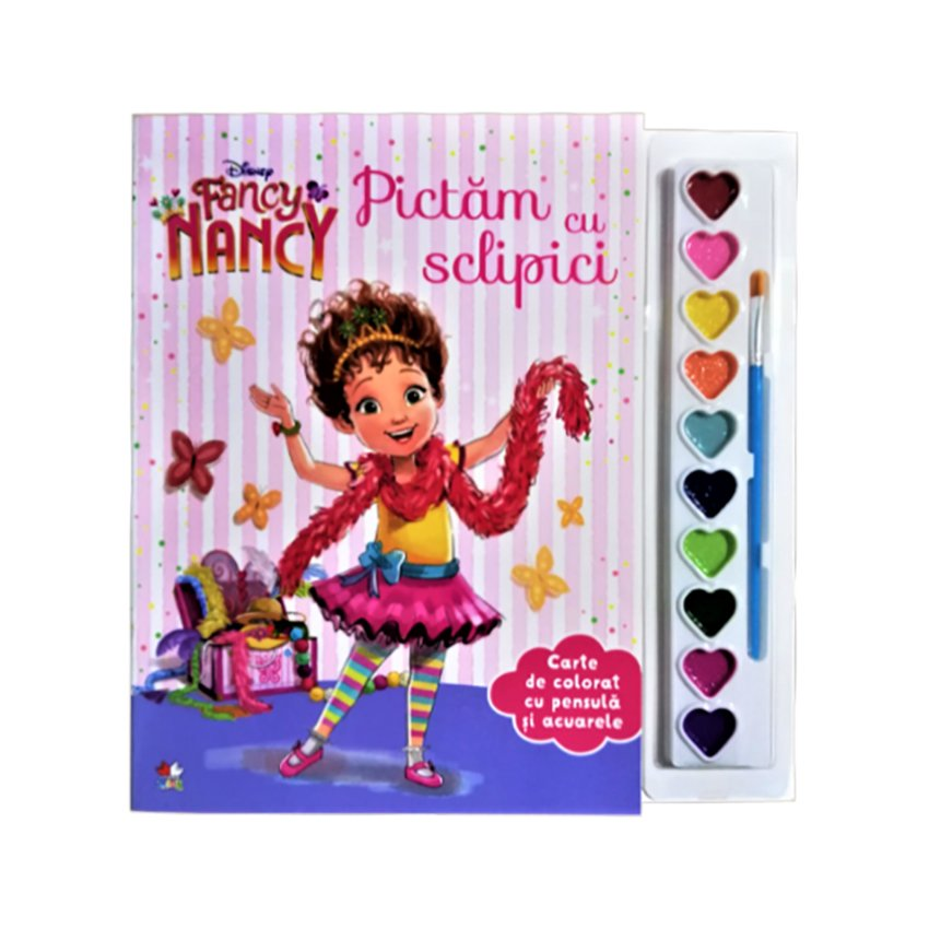 Carte Editura Litera, Pictam cu sclipici Fancy Nancy