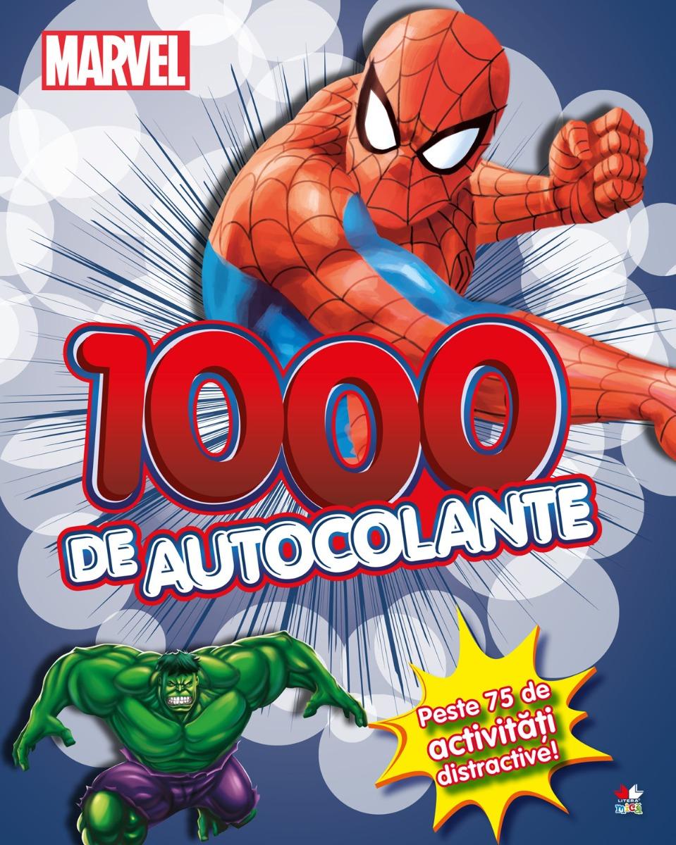 Carte cu autocolante Spiderman, Marvel