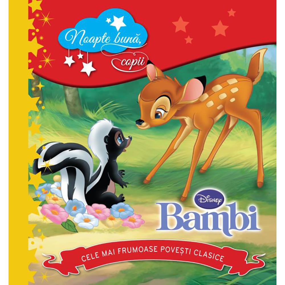 Carte Editura Litera, Disney. Bambi. Noapte buna, copii! Cele mai frumoase povesti clasice