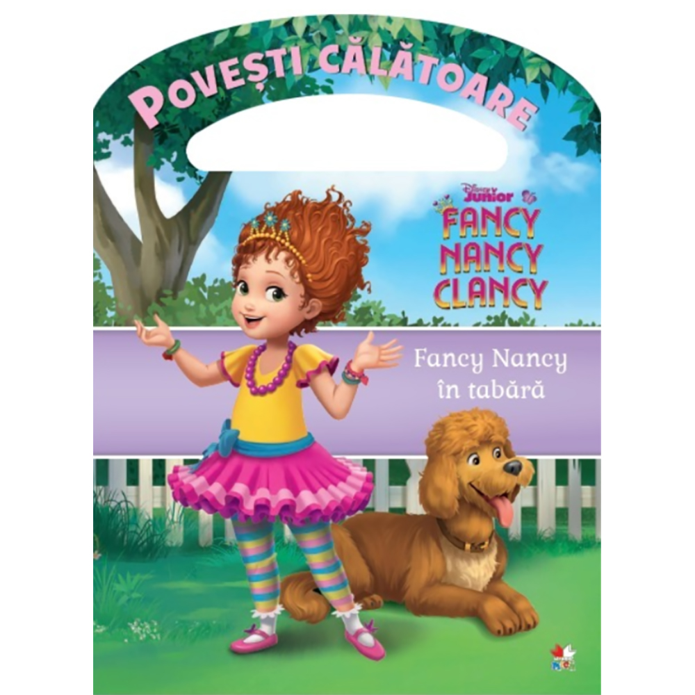 Carte Editura Litera, Fancy Nancy in tabara, Povesti calatoare