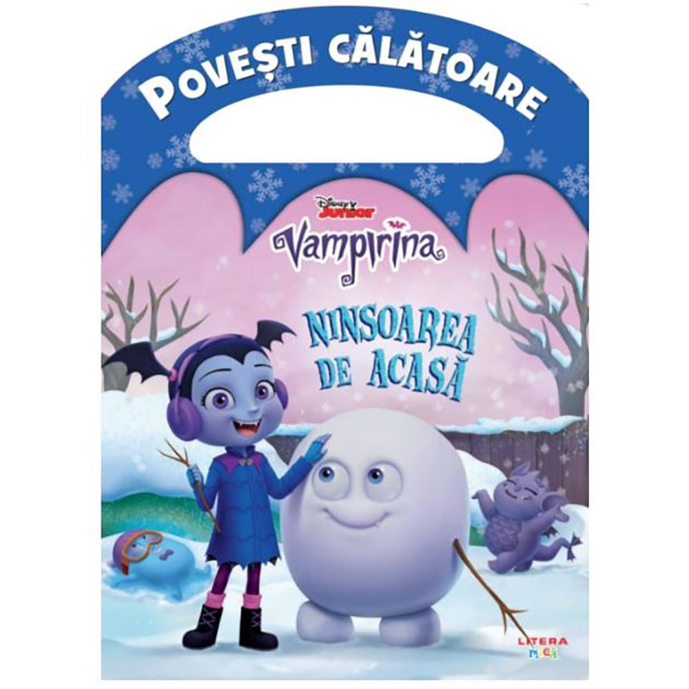 Carte Editura Litera, Disney, Vampirina, Ninsoarea de acasa