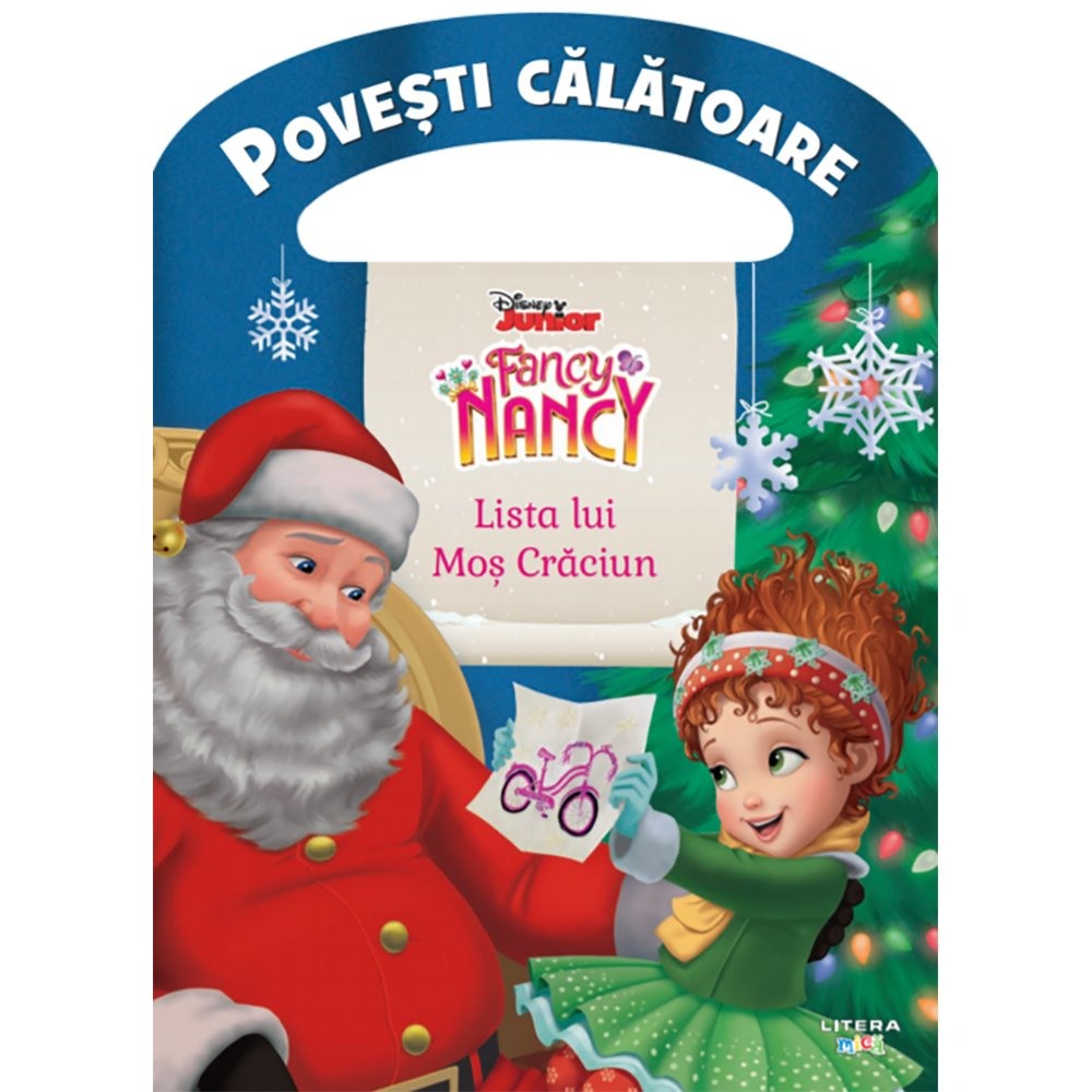 Carte Editura Litera, Disney, Fancy Nancy, Lista lui Mos Craciun