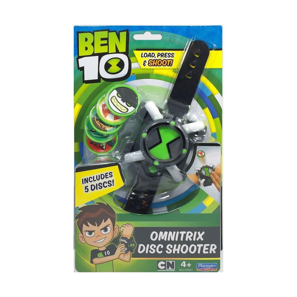 Ceas Omnitrix cu lansator de discuri Ben 10