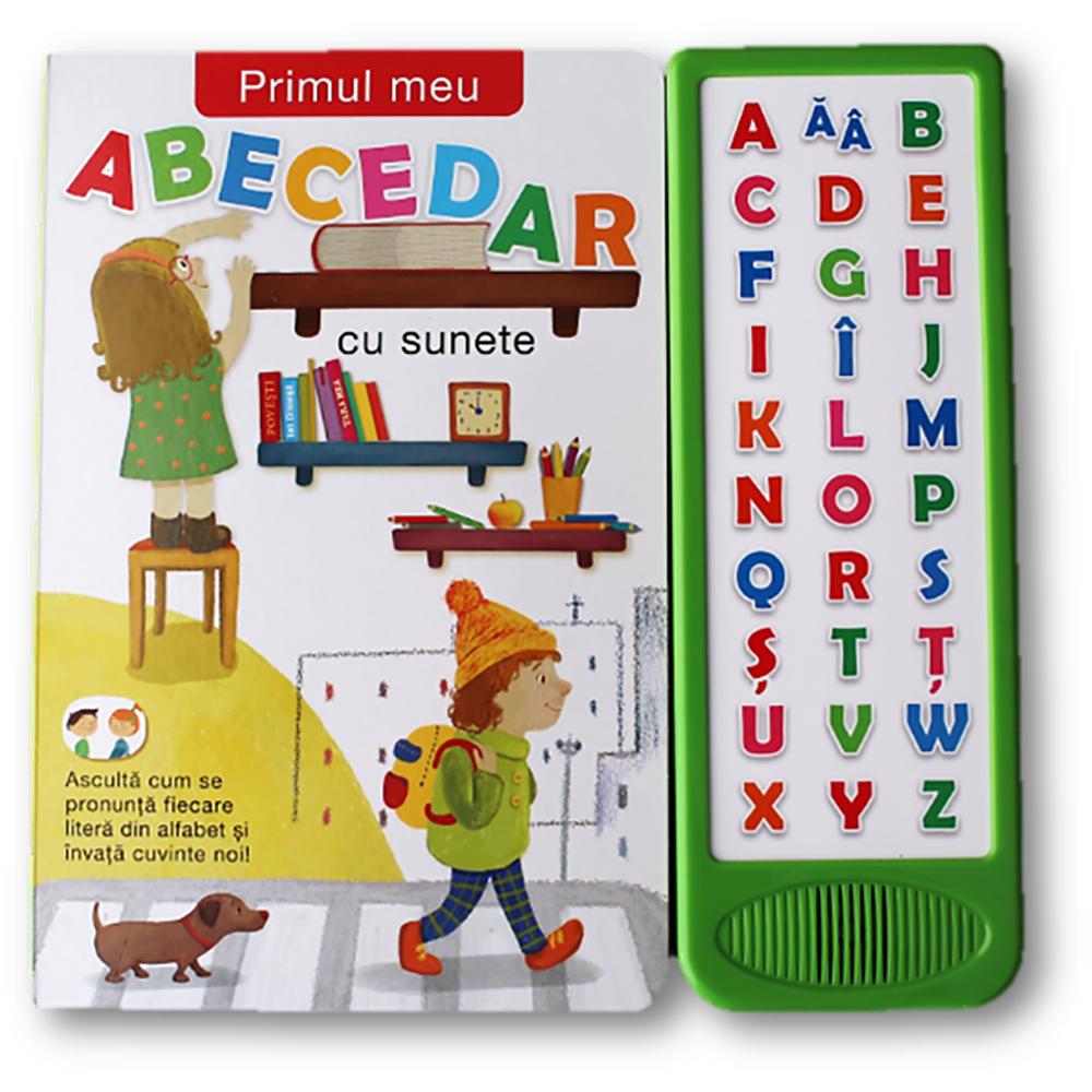 Carte Editura Litera, Primul meu abecedar cu sunete