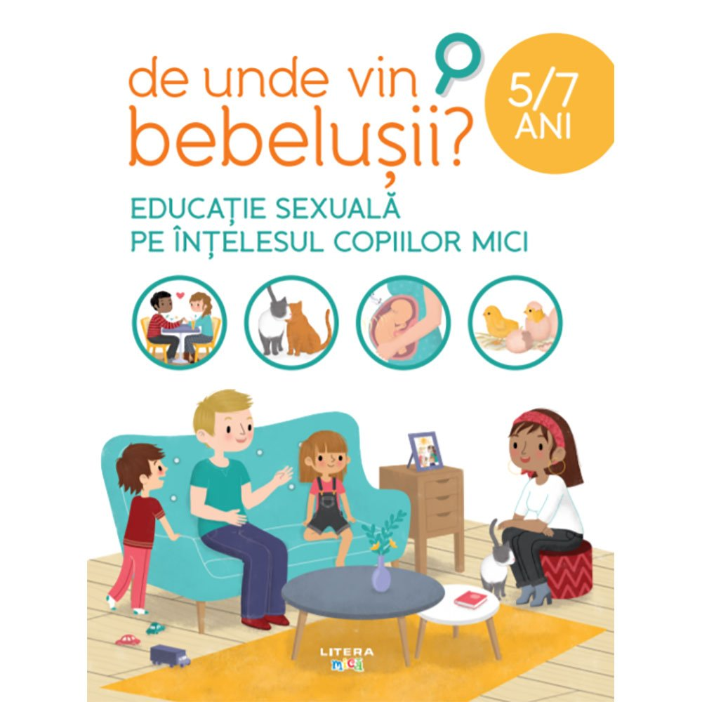Carte Editura Litera, De unde vin bebelusii?