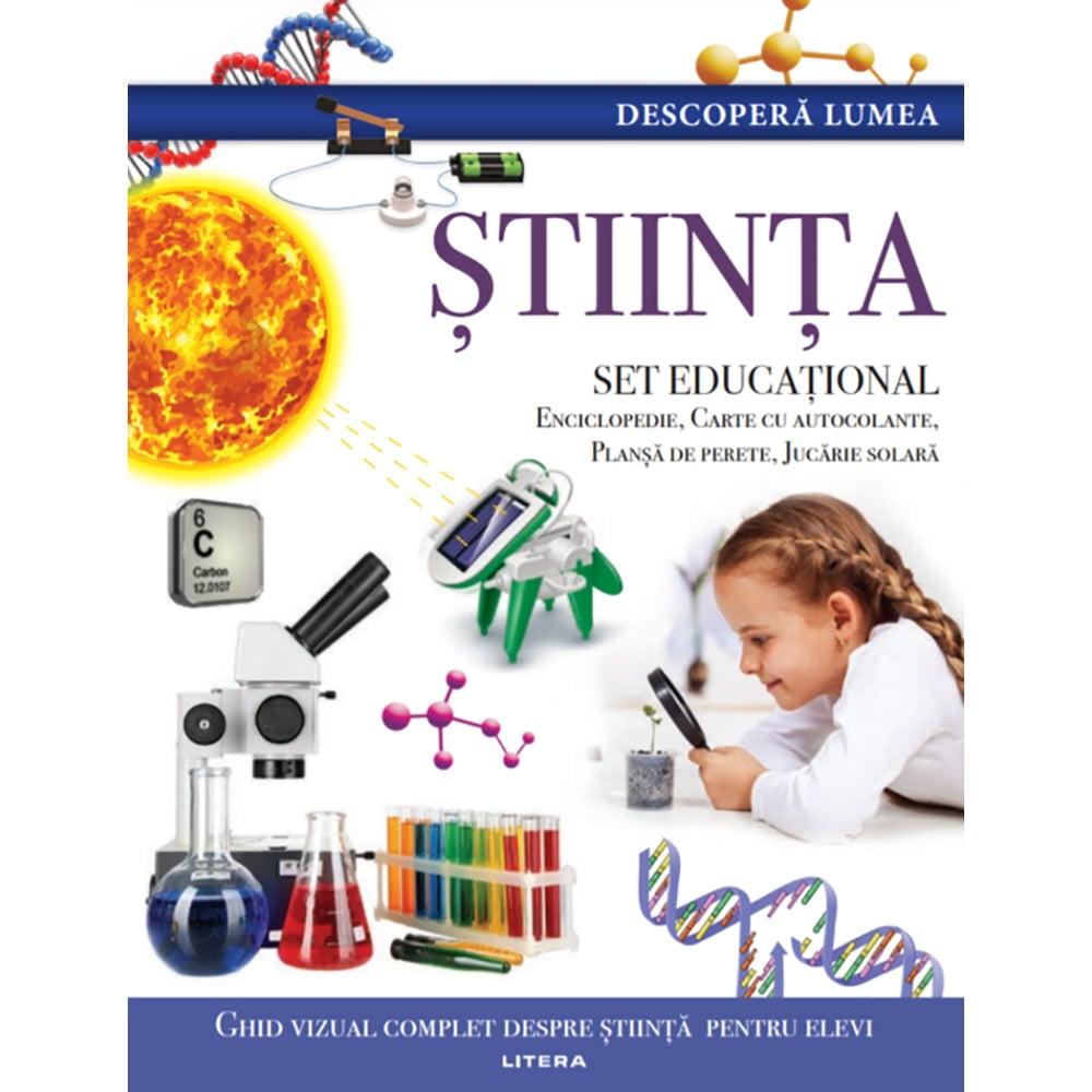 Carte Editura Litera, Descopera Lumea, Stiinta