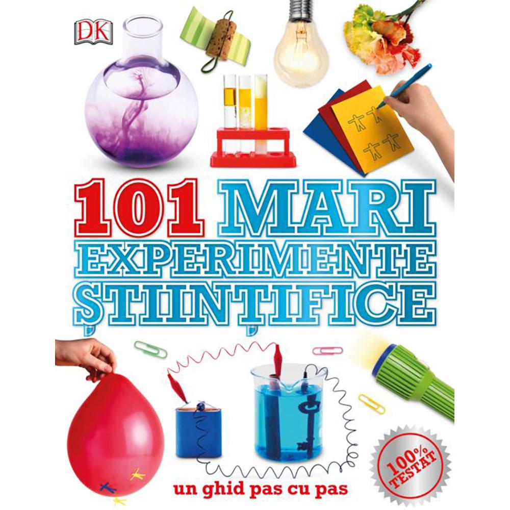 Carte Editura Litera, 101 mari experimente stiintifice