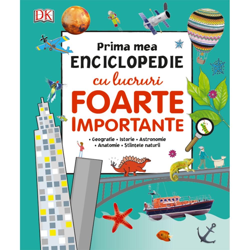 Carte Editura Litera, Prima mea enciclopedie cu lucruri foarte importante