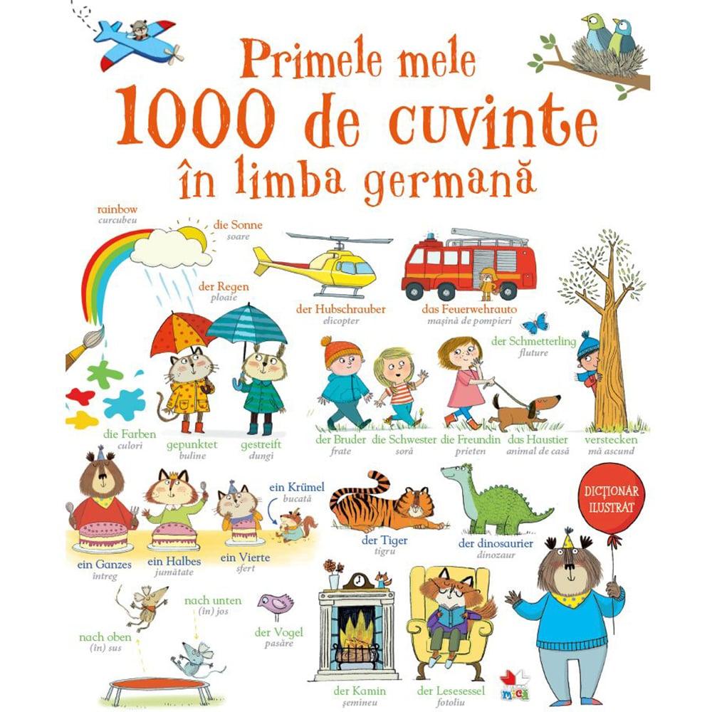Carte Editura Litera, Primele mele 1000 de cuvinte in limba germana imagine